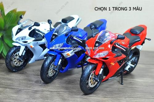 Giá Hot Nhất - MS: 8755 - XE MO HINH 1/12 MOTO YAMAHA YZF R1 - MAISTO - Chon 1 trong 4 mau