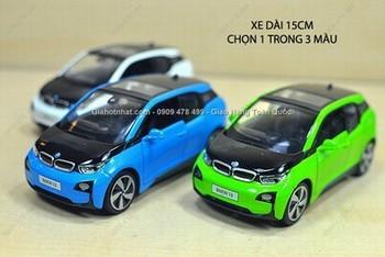 Giá Hot Nhất - MS: 9633 - XE MO HINH SAT 1/32 XE DIEN BMW I3