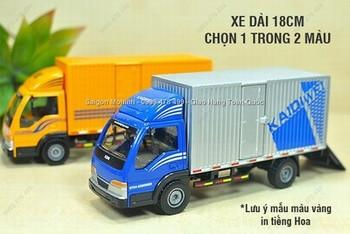 Giá Hot Nhất - MS: 9912 - XE MO HINH SAT 1/50 22CM XE TAI CHO HANG - KDW