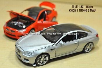 Giá Hot Nhất - MS: 9637 - MO HINH 1/32 SIEU XE BMW M6 - Chon 1 trong 3 mau