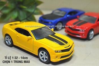 Giá Hot Nhất - MS: 9667 - XE MO HINH 1/32 15CM CHEVROLET CAMARO - MZ - Chon 1 trong 3 mau
