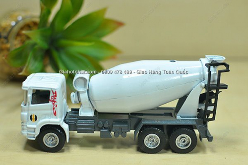 Giá Hot Nhất - MS: 9957 - MO HINH SAT 1/60 14CM XE TAI CONG TRINH - Chon 1 trong 2 mau xe tai cong trinh chuyen dung bang sat voi khop truyen