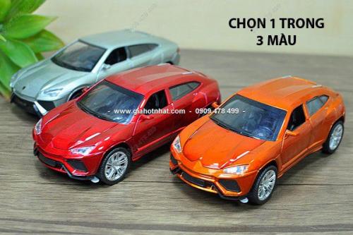 Giá Hot Nhất - MS: 9745 - Xe Mo Hinh Sat Ti Le 1/32 - Lamborghini Urus - Chon 1 trong 3 mau