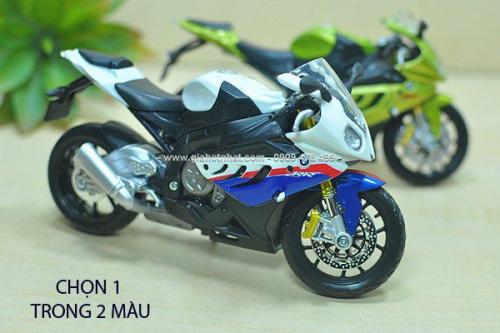 Giá Hot Nhất - MS: 8607 - MO HINH XE MOTO TI LE 1/12 BMW S1000R - MAISTO