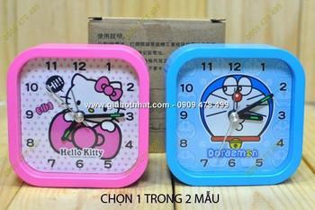 Giá Hot Nhất - MS: 6493 - DONG HO BAO THUC VUONG DOREAMON /KITTY