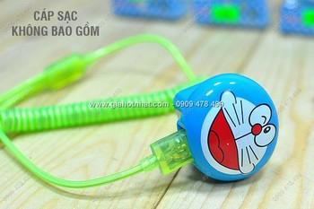 Giá Hot Nhất - MS: 6535 - COC SAC USB DOREAMON NHUA CUNG