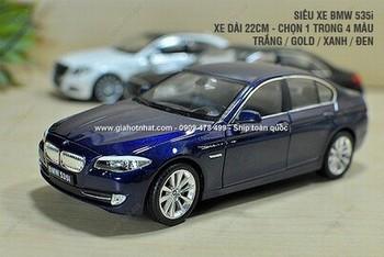 Giá Hot Nhất - MS: 8012 - MO HINH XE SAT 1/24 22CM BMW 535I - WELLY