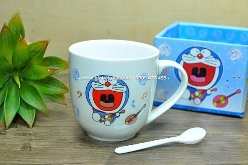 Giá Hot Nhất - MS: 6556 - LY SU THAP DOREAMON / KITTY CO QUAI