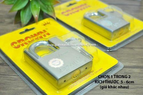 Giá Hot Nhất - MS: 6366 & 6367 - KHOA INOX CHONG CAT SIEU BEN CROWN