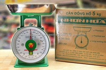 Giá Hot Nhất - MS: 6275 - CAN DONG HO NHON HOA CHINH HANG LOAI 5KG - Yen tam kiem tra can do
