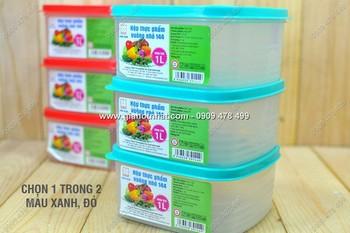 Giá Hot Nhất - MS: 6031 - COMBO 3 HOP NHUA VUONG DUNG THUC PHAM AN TOAN
