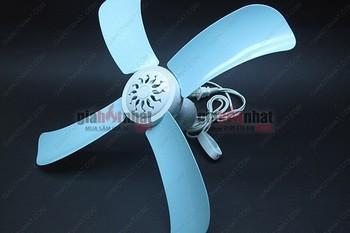 MS: 6036/ 6037 - QUẠT TRẦN 4 CÁNH MINI (cánh 18cm) VÀ CỠ TRUNG ( cánh 25cm ), tiết kiệm điện năng và diện tích vớ cánh 18cm