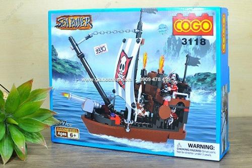 Giá Hot Nhất - MS 9330 - HOP RAP HINH TAU CUOP BIEN SEA ROVER