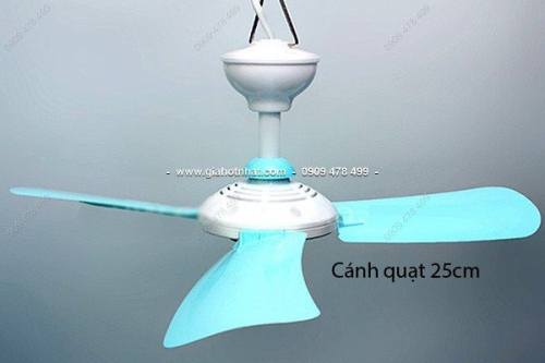 Giá Hot Nhất - MS: 6035 / 6033 - QUAT TRAN TREO 3 CANH LON 28CM hoac 32CM THAO LAP TIEN LOI
