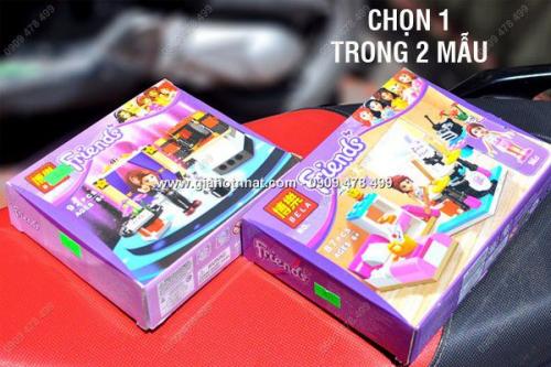 Giá Hot Nhất - MS: 9029 / 9031 - HOP RAP HINH FRIENDS EMMA CHOI NHAC HOAC AO THUAT