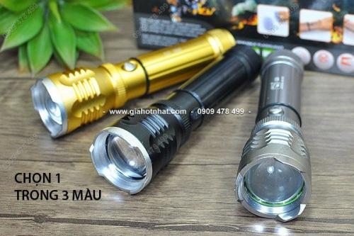 MS: 5070 - ĐÈN PIN SẠC ZOOM SIÊU SÁNG K27 / SHARK - đèn pin siêu tiện lợi cho bạn