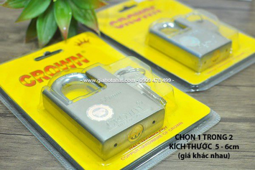 Giá Hot Nhất - MS: 6352 & 6353 - KHOA INOX CHONG CAT SIEU BEN CROWN