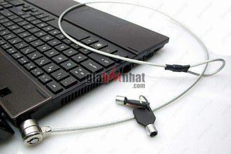 MS: 5051/ 5052 - DÂY KHÓA LAPTOP F&K - Bảo vệ Laptop của bạn