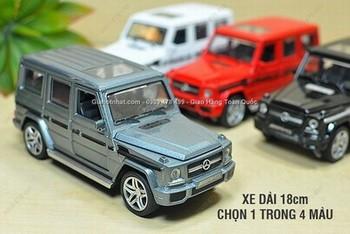 Giá Hot Nhất - MS: 9811 - XE MO HINH SAT 1/32 17CM XE SUV MERCEDES G65