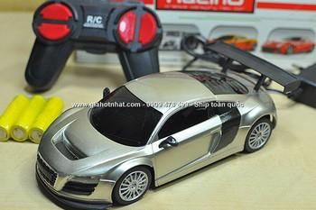 MS: 9445 - SIÊU XE AUDI GT SPORT ĐIỀU KHIỂN TỪ XA - màu trắng bạc tuyệt đẹp