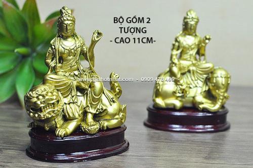 Giá Hot Nhất - MS: 6466 - BO 2 TUONG NHO - 11CM - VAN THU & PHO HIEN BO TAT