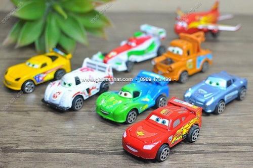 Giá Hot Nhất - MS 9319 - COMBO 8 XE CARS MINI CHAY TRON