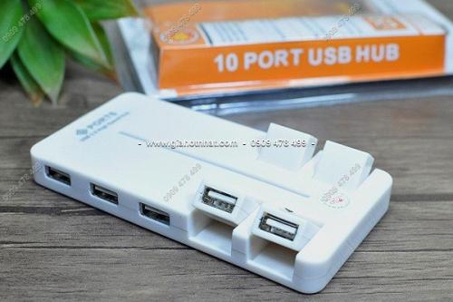 MS 5149 - HUB USB VI TÍNH 10 CỔNG CÓ CÔNG TẮC CHUNG