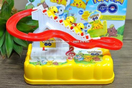 Giá Hot Nhất - MS 9246P - TRO CHOI POKEMON TRUOT CAU THANG