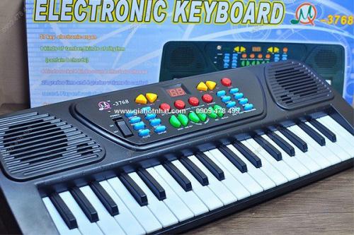 Giá Hot Nhất - MS 9083 DAN PIANO DO CHOI DIEN TU 3768