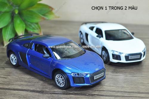 Giá Hot Nhất - MS 9616 - XE MO HINH SAT TI LE 1:32 AUDI R8 V10 PLUS