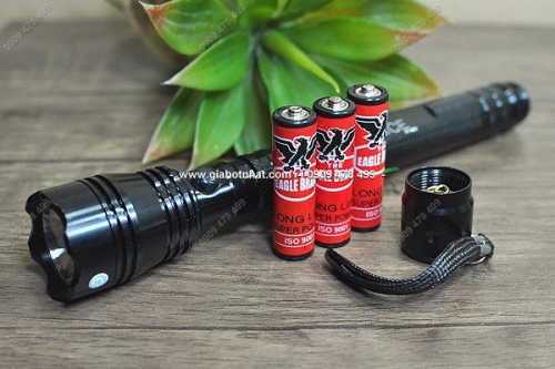 Giá Hot Nhất - MS 5282 - DEN PIN SIEU SANG DANG DAI DUNGF 3 PIN AA