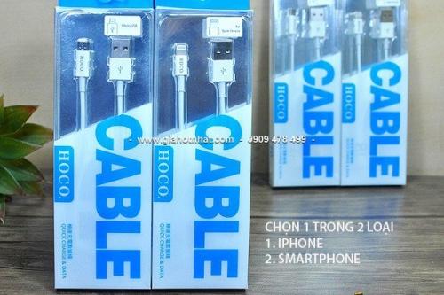 Giá Hot Nhất - MS: 5194 / 5195 - DAY CAP SAC CHINH HANG HOCO Hang zin xuat xu HONG KONG