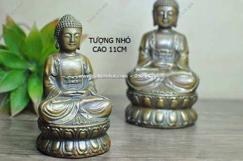 Giá Hot Nhất - (MS 6480 - 6476) - TUONG DONG DUC KHOI GIA CO 18CM (MS:6480) HAY 11CM (MS:6476) - PHAT THICH CA NGOI THIEN
