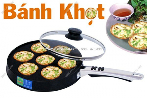 Giá Hot Nhất - MS: 6356 - KHUON BANH KHOT, BANH CAN 7 LO CHONG DINH KIM HANG