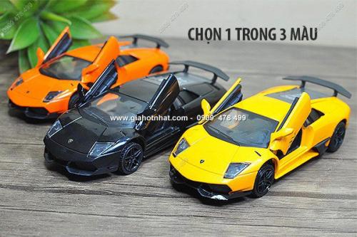 Giá Hot Nhất - MS: 9755 - XE MO HINH TI LE 1/32 - LAMBORGHINI MURCIELAGO - MZ