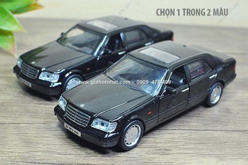 Giá Hot Nhất - MS: 9815 - XE MO HINH SAT TI LE 1/32 - MERCEDES SCLASS W140 SANG TRONG