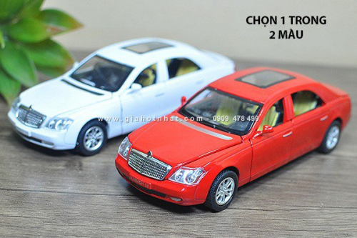 Giá Hot Nhất - MS: 9880 - XE MO HINH SAT TI LE 1/32 - SIEU XE MAYBACH