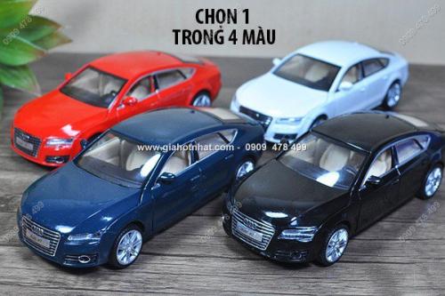 Giá Hot Nhất - MS: 9607 - XE MO HINH SAT TI LE 1/32 - AUDI A7