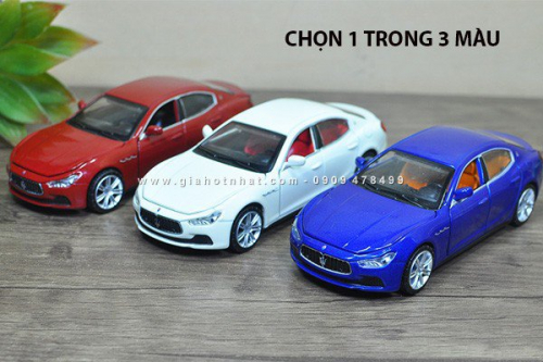 Giá Hot Nhất - MS: 9799 - XE MO HINH TI LE 1/32 - MASERATI GHIBLI