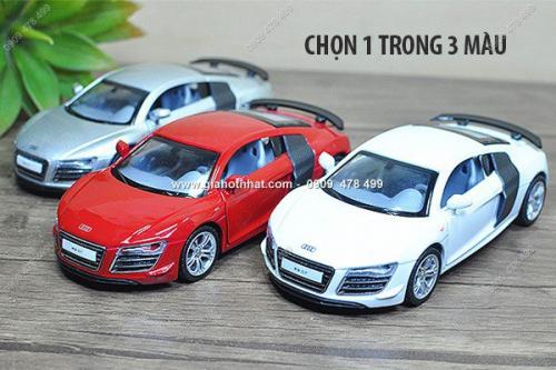 Giá Hot Nhất - MS: 9617 - XE MO HINH SAT TI LE 1/32 - AUDI GT