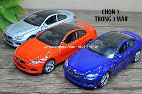 Giá Hot Nhất - MS: 9637 - XE MO HINH SAT TI LE 1/32 - SIEU XE BMW M6