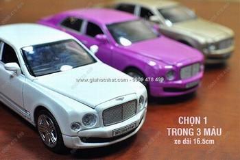 Giá Hot Nhất - MS: 9629 - XE MO HINH 1/32 - 18CM - BENTLEY MULSENCE - Chon 1 trong 3 mau