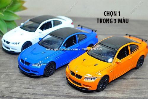 Giá Hot Nhất - MS: 9636 - XE MO HINH SAT TI LE 1/32 - BMW M3 GTS - KDW