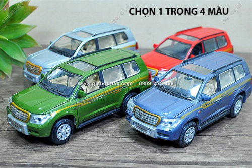 Giá Hot Nhất - MS: 9862 - MO HINH SAT TI LE 1/32 XE TOYOTA LAND CRUISER - SHENGHUI