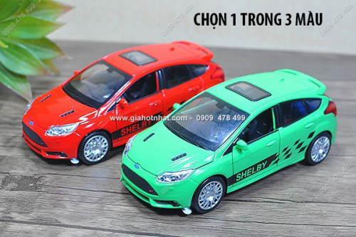Giá Hot Nhất - MS: 9713 - XE MO HINH SAT TI LE 1/32 - FORD FORCUS SHELBY