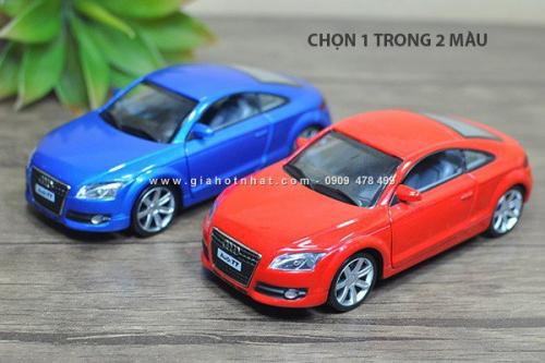 Giá Hot Nhất - MS: 9619 - XE MO HINH SAT TI LE 1/32 AUDI TT