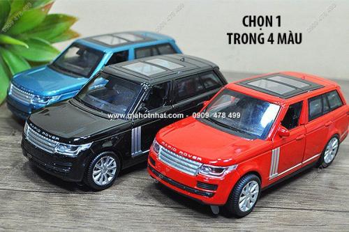 Giá Hot Nhất - MS: 9768 - XE MO HINH SAT TI LE 1/32 - KIEU DANG RANGE ROVER AUTOBIOGRAPHY - DH