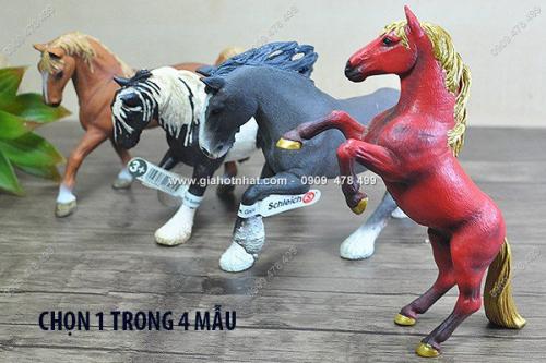 Giá Hot Nhất - MS: 7671 - MO HINH CAO CAP NGUA HOANG DA - Chon 1 trong 4 mau, Nhan hieu Germany