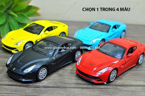 Giá Hot Nhất - MS: 9684 - XE MO HINH SAT TI LE 1/32 - KIEU DANG FERRARI F12