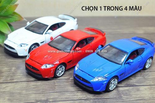 Giá Hot Nhất - MS: 9879 - XE MO HINH TI LE 1/32 - JAGUAR XKR